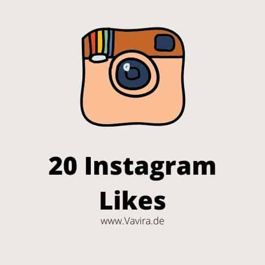 20 Instagram Likes