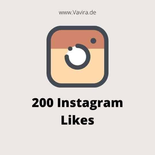200 Instagram Likes